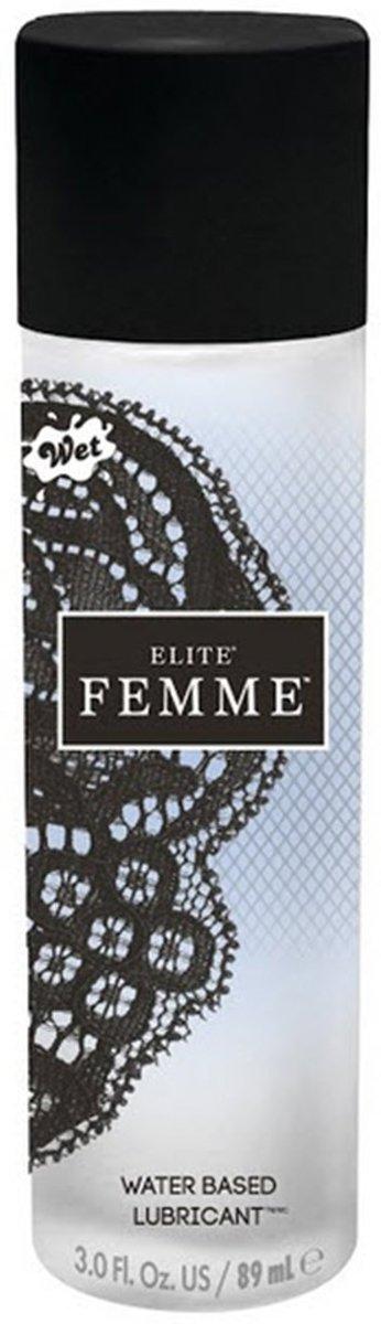 WET Elite Femme Glijmiddel op waterbasis - 89 ml