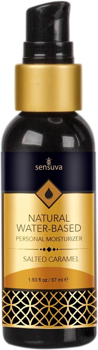 Sensuva - Natural Waterbasis Glijmiddel Gezouten Caramel 57 ml