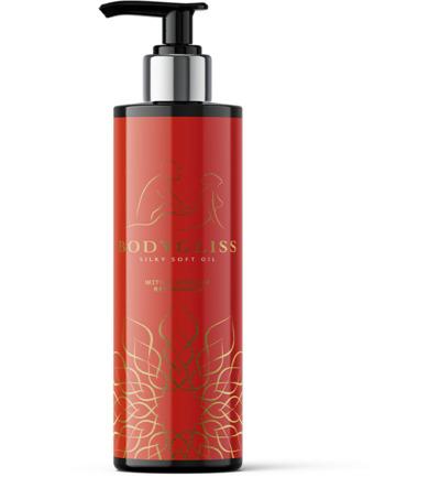 Bodygliss Silky Soft Oil Red Orange (150ml)