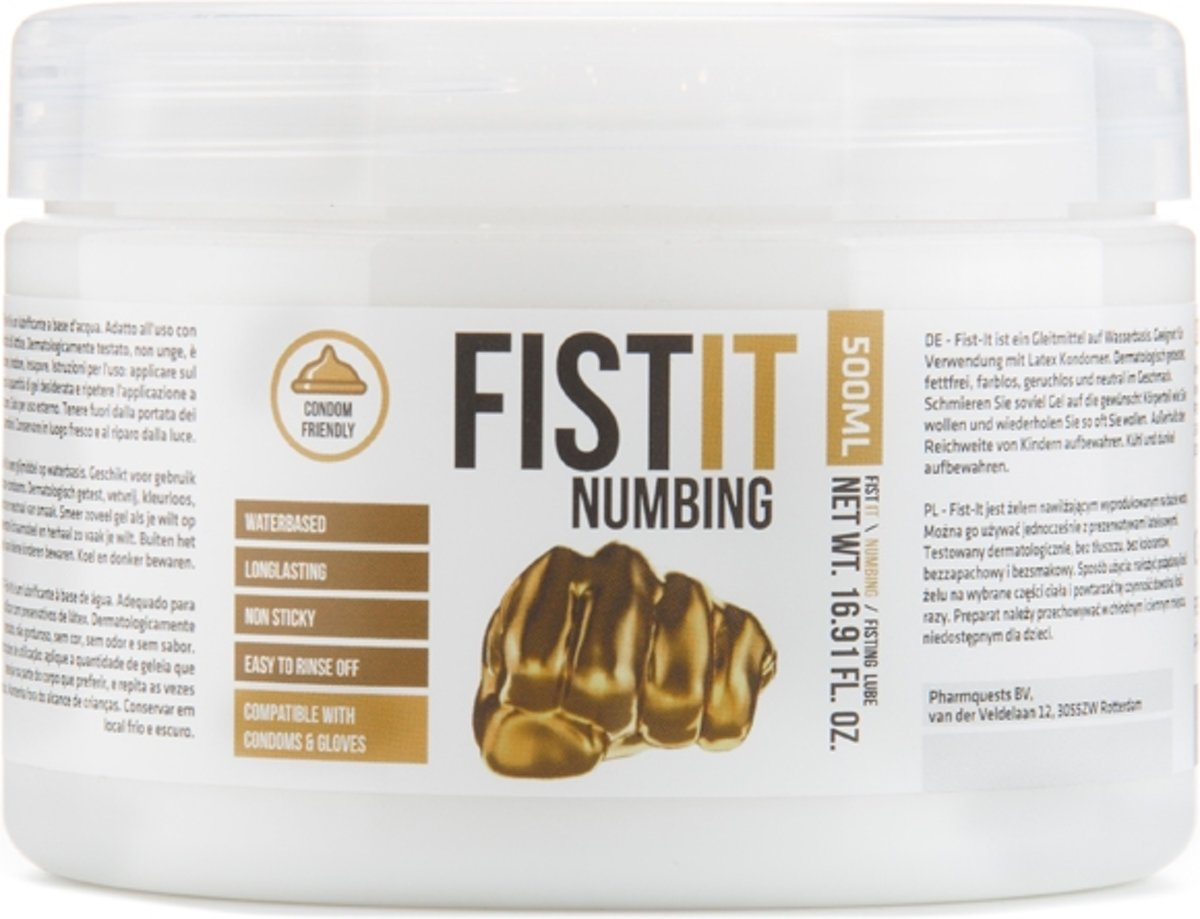 Fist It Numbing Verdovend Glijmiddel  - 500 ml