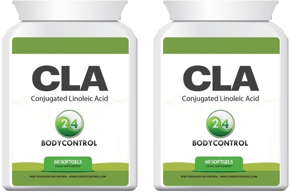 24Bodycontrol CLA duopack vetverbranders & - 180 capsules - blokkers - Voedingssupplement
