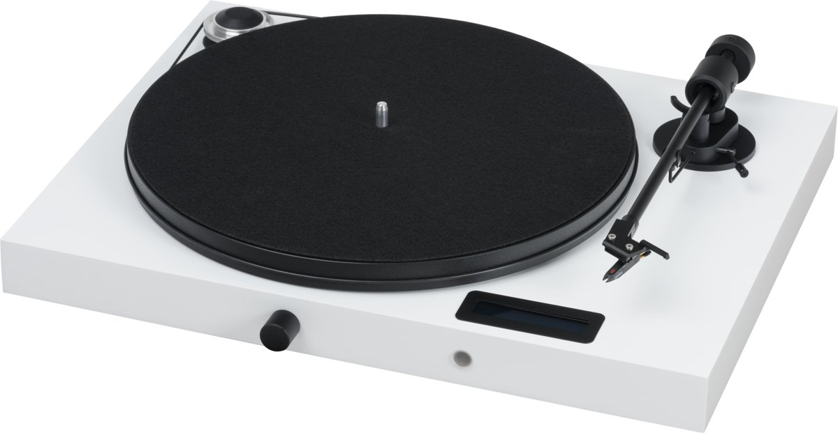 Pro-Ject Jukebox E OM5e White (Oude EAN, Uitlopend)