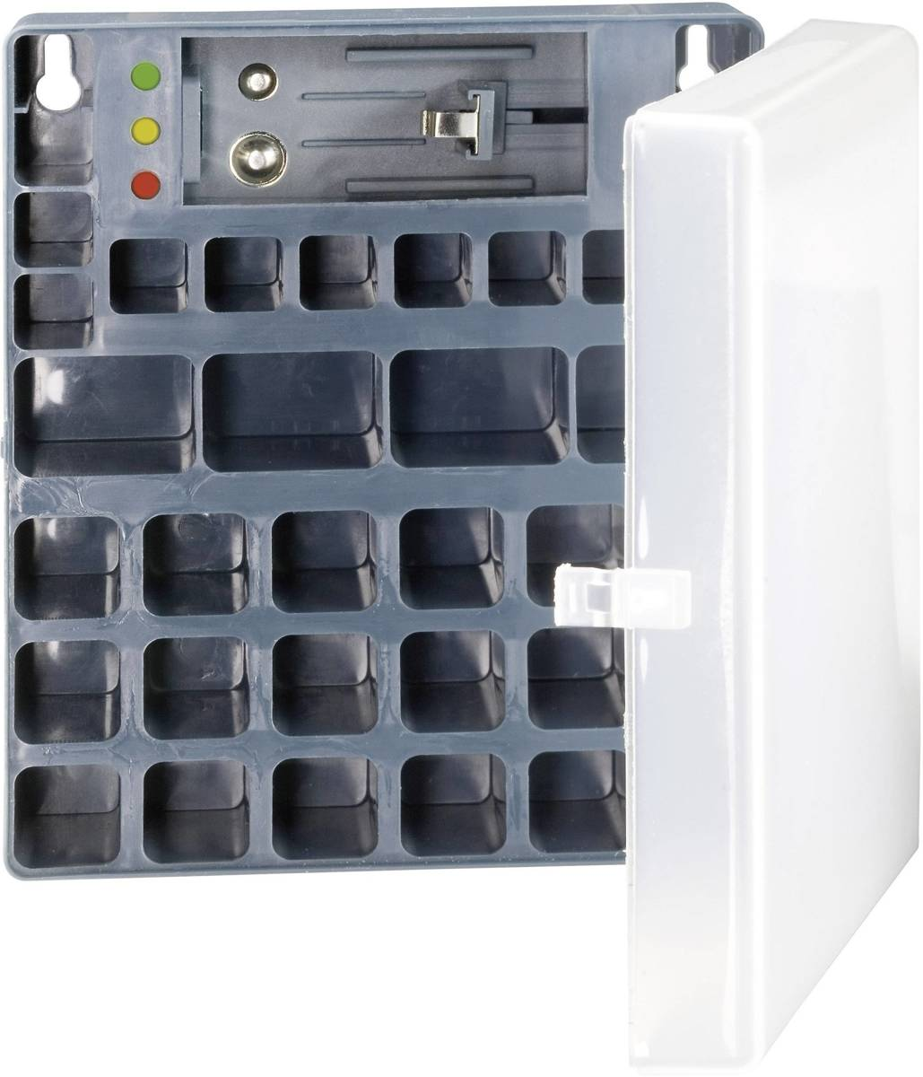 Batterijbox 9V (blok) Ansmann Box 9V (l x b x h) 125 x 34 x 53 mm