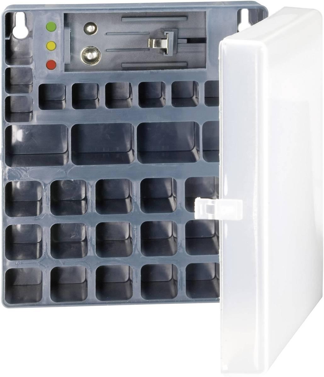 Batterijbox AAA (potlood), AA (penlite), 9V (blok) Ansmann Batterijbox 48 (l x b x h) 173 x 138 x 63 mm