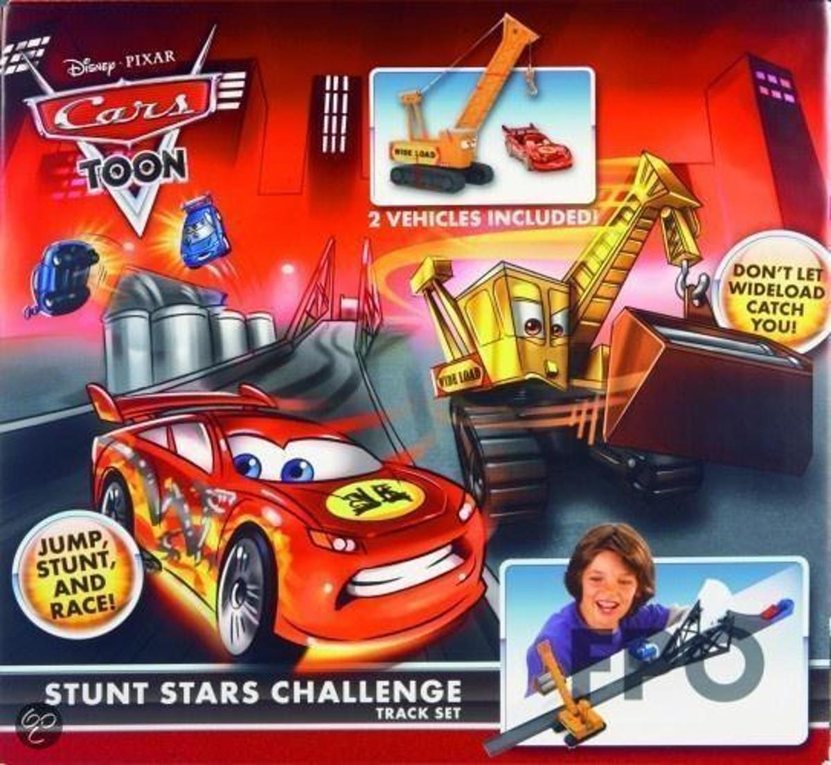 Cars Toon Ninja Knockout track