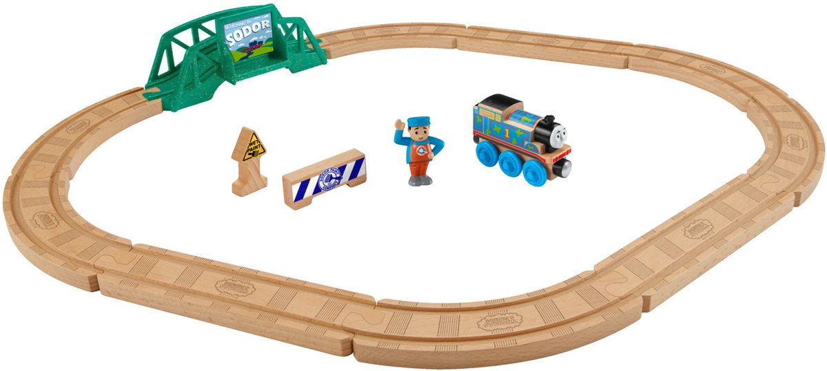Thomas & Friends - Playsets - Wood 5 in 1 Builder Set
