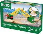 BRIO Magnetische spoorwegovergang - 33750