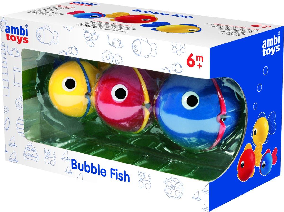 Ambi Toys baddieren Bubble Fish 3-delig
