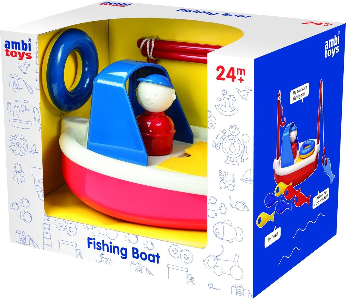 Ambi Toys vissersboot 21 cm