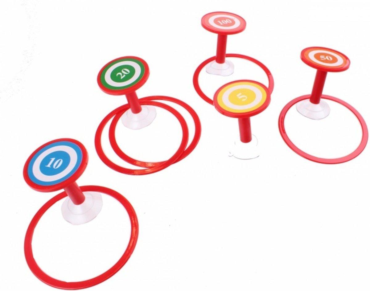Kamparo badspeelgoed ringen gooien 10-delig