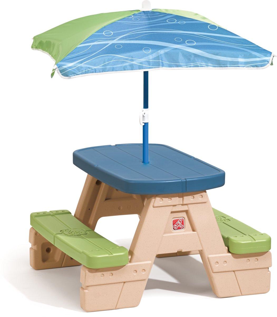 Step2 Picknicktafel Playful Picnic Met Parasol 94 Cm