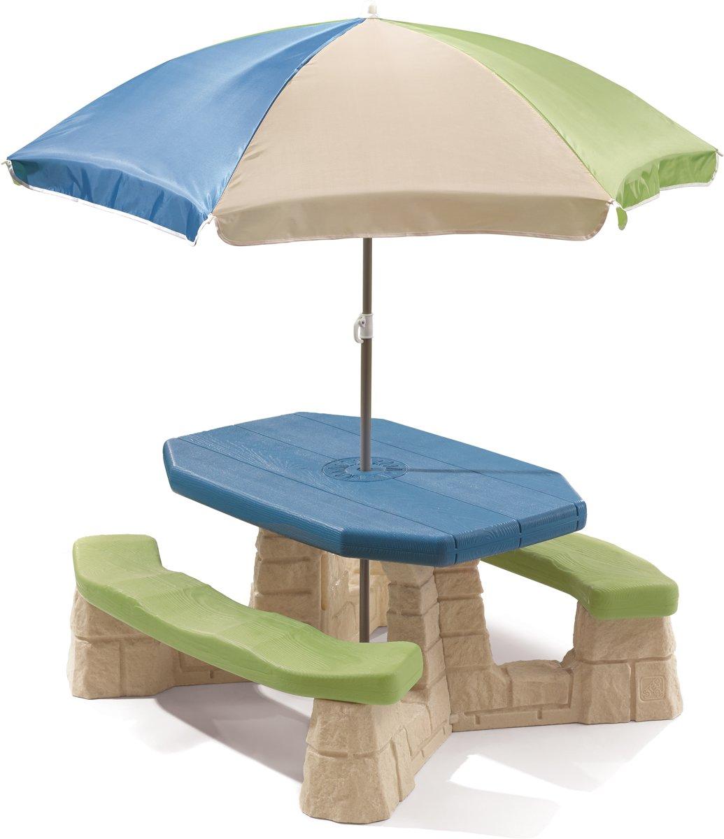 Step2 Picknicktafel Playful Picnic Met Parasol 183 Cm