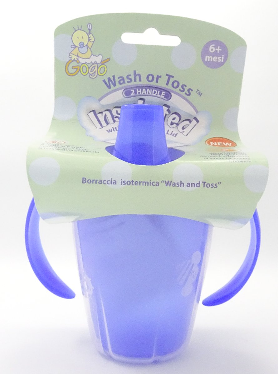 Nuby Drinkbeker - Wash Or Toss Vanaf 6 Maanden