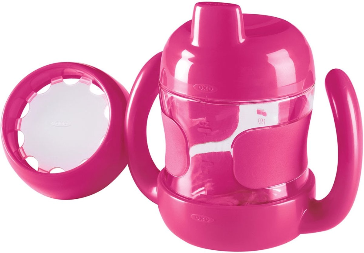 OXO tot Sippy set (200 ml) - Pink