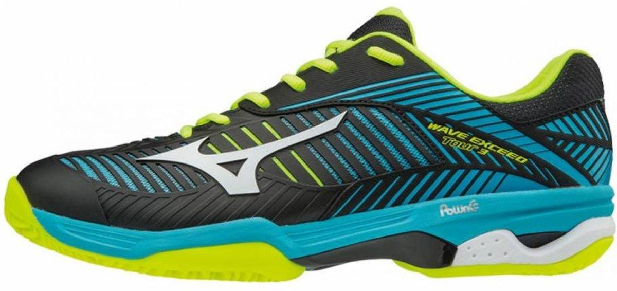 Mizuno Wave Exceed Tour 3CC blauw zwart tennisschoenen heren