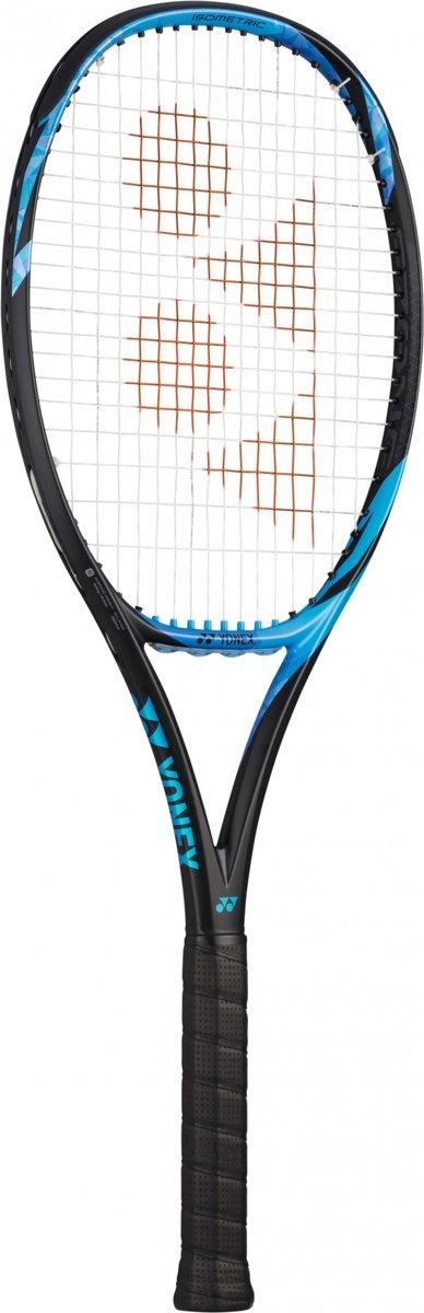 tennisracket Ezone 98 blauw gripmaat L3
