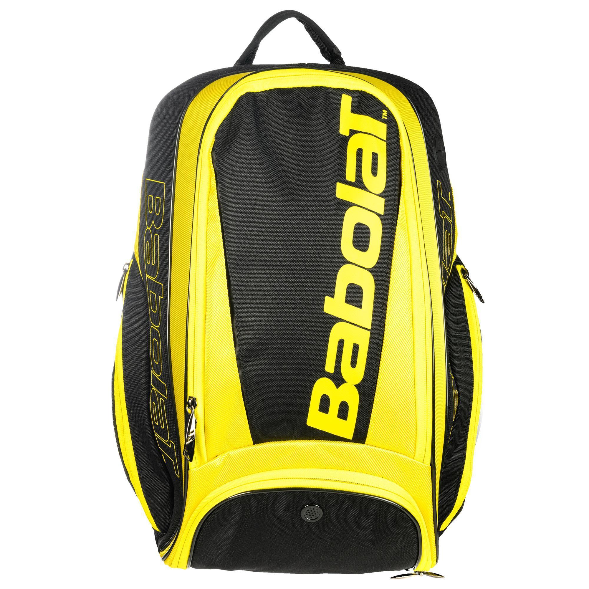 Babolat Rugzak voor racketsport Aero geel zwart