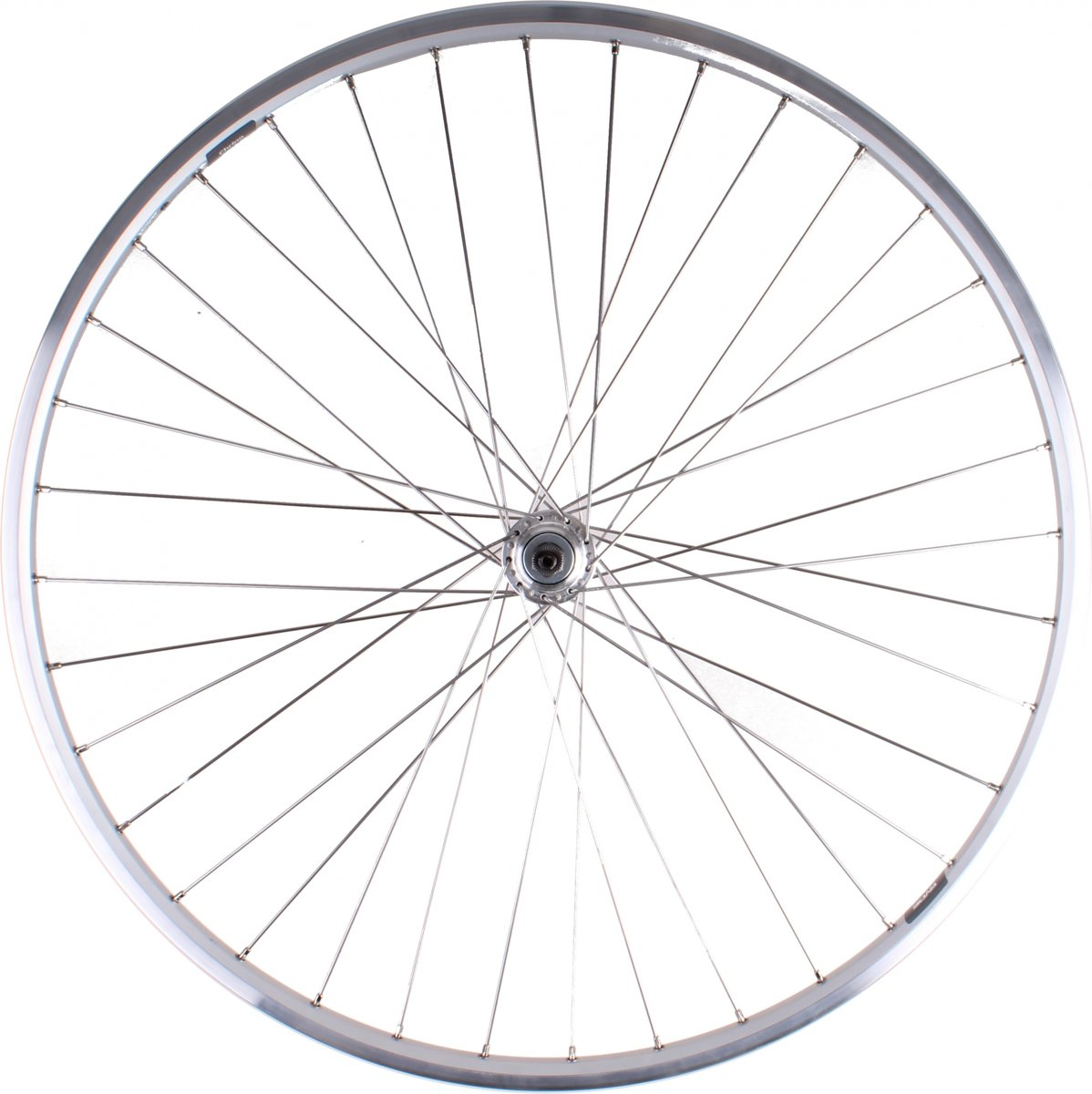 VWP achterwiel Ryde Chrina 28 inch pion 36G zilver