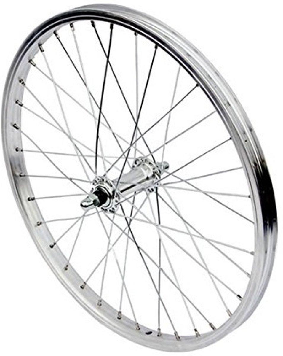 VWP Voorwiel 20 X 1.75 velgrem aluminium 36g zilver