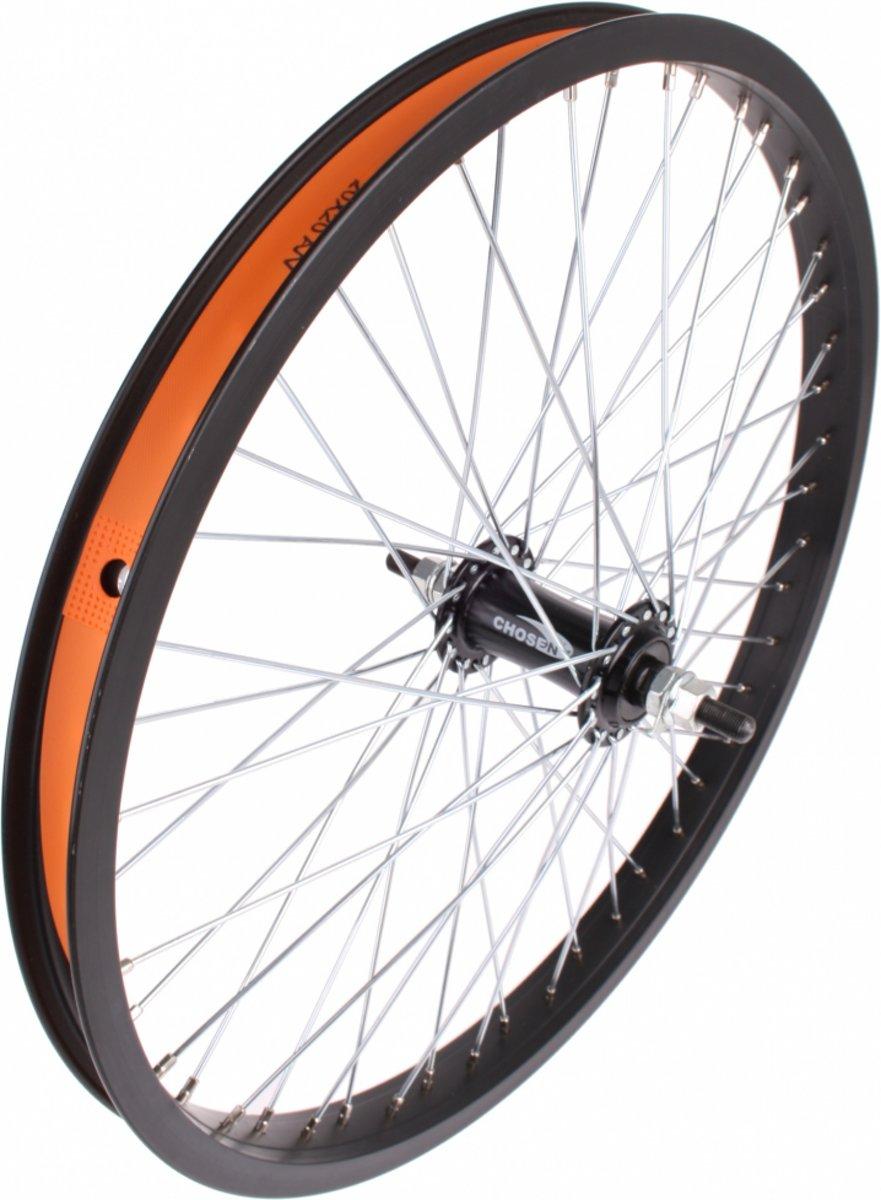 VWP Voorwiel Freestyle 20 inch Aluminium 48G Zwart