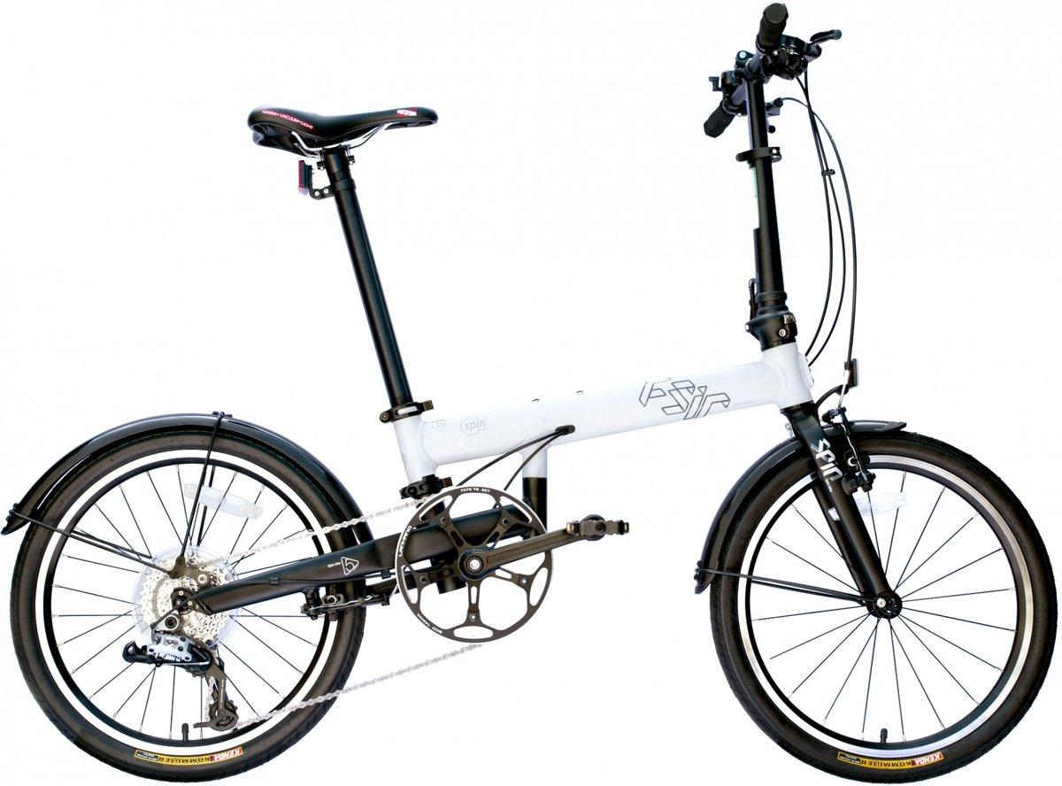 FSIR-bike - Vouwfiets - Unisex - Wit - 20 Inch