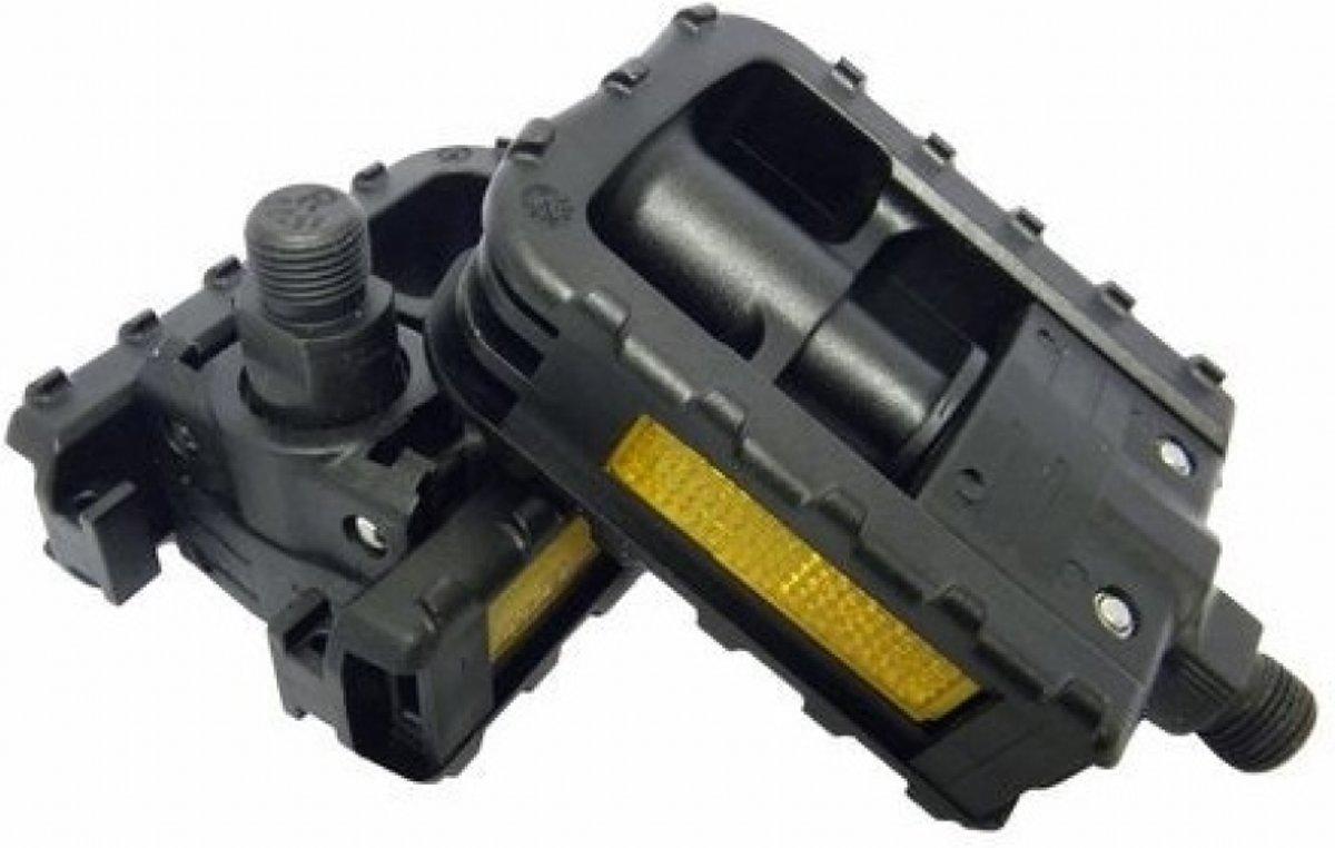 VWP Vouwpedaal Vouwfiets Luxe pvc/alu 9/16 inch zwart per set