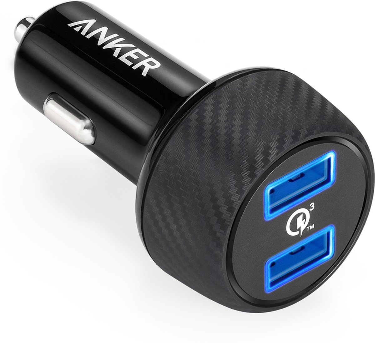 Anker PowerDrive Speed 2 autolader met Quick Charge 3.0