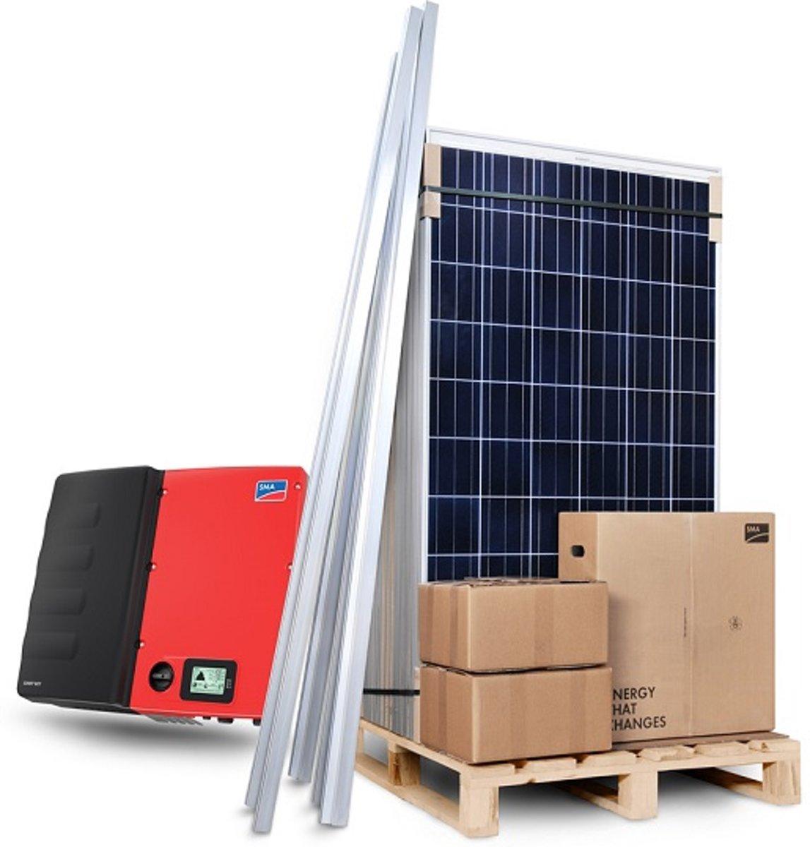Zonnepanelen compleet pakket 4200W