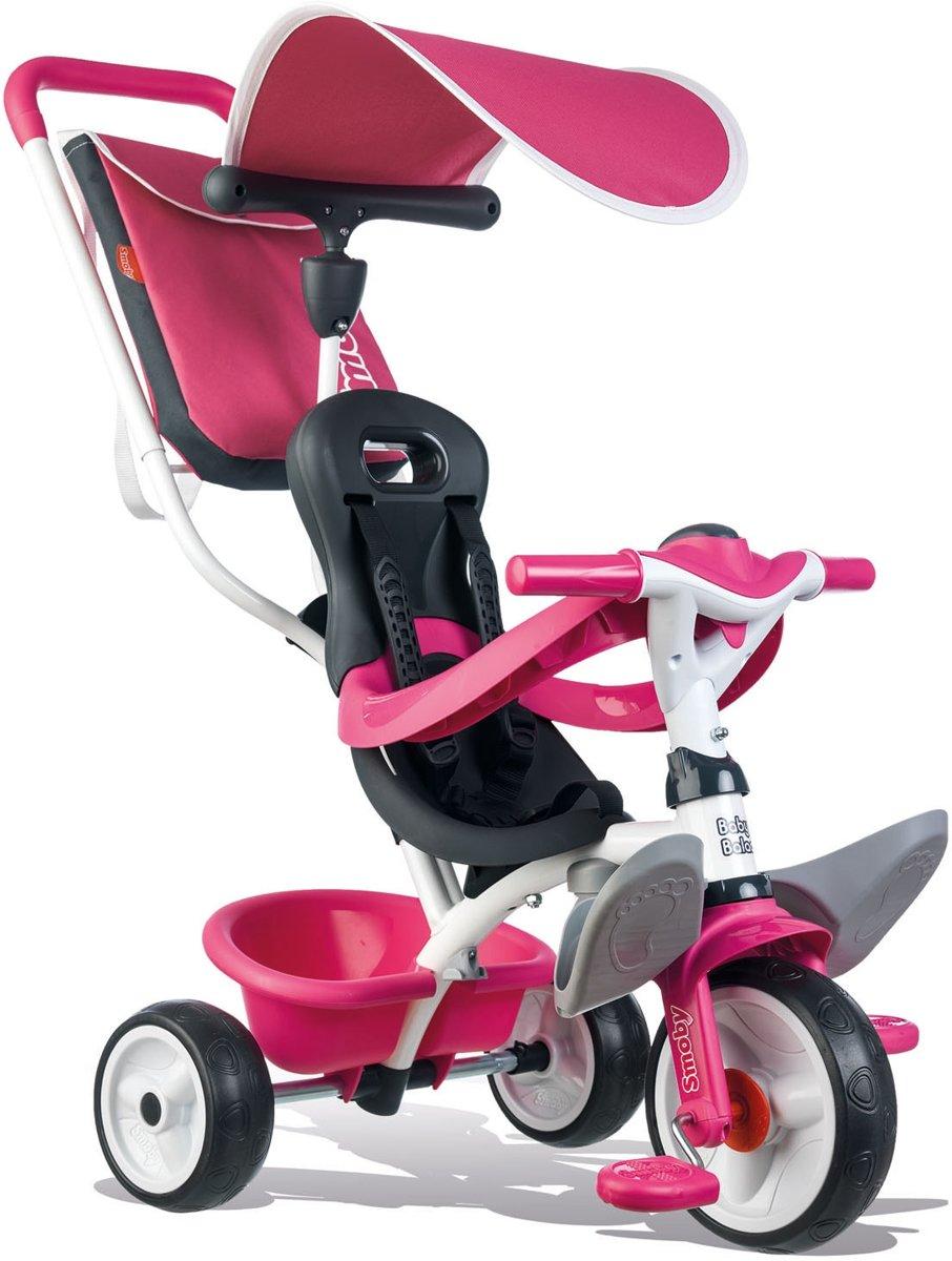 Smoby Baby Balade Driewieler Roze