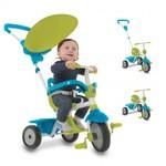SmarTrike ZIP driewieler 3-in-1 - blauwe/groen/wit