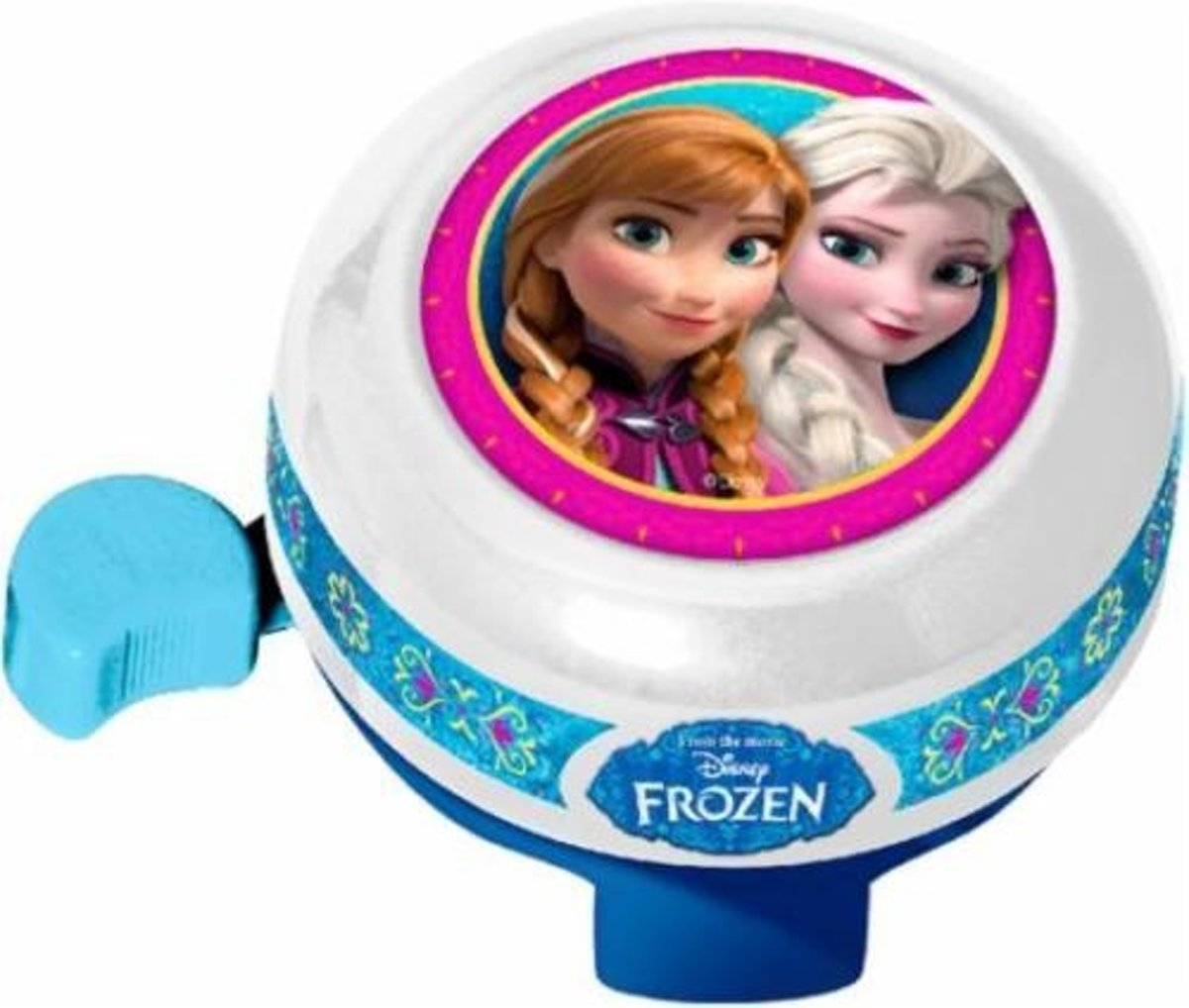 Disney fietsbel Frozen 55 mm wit