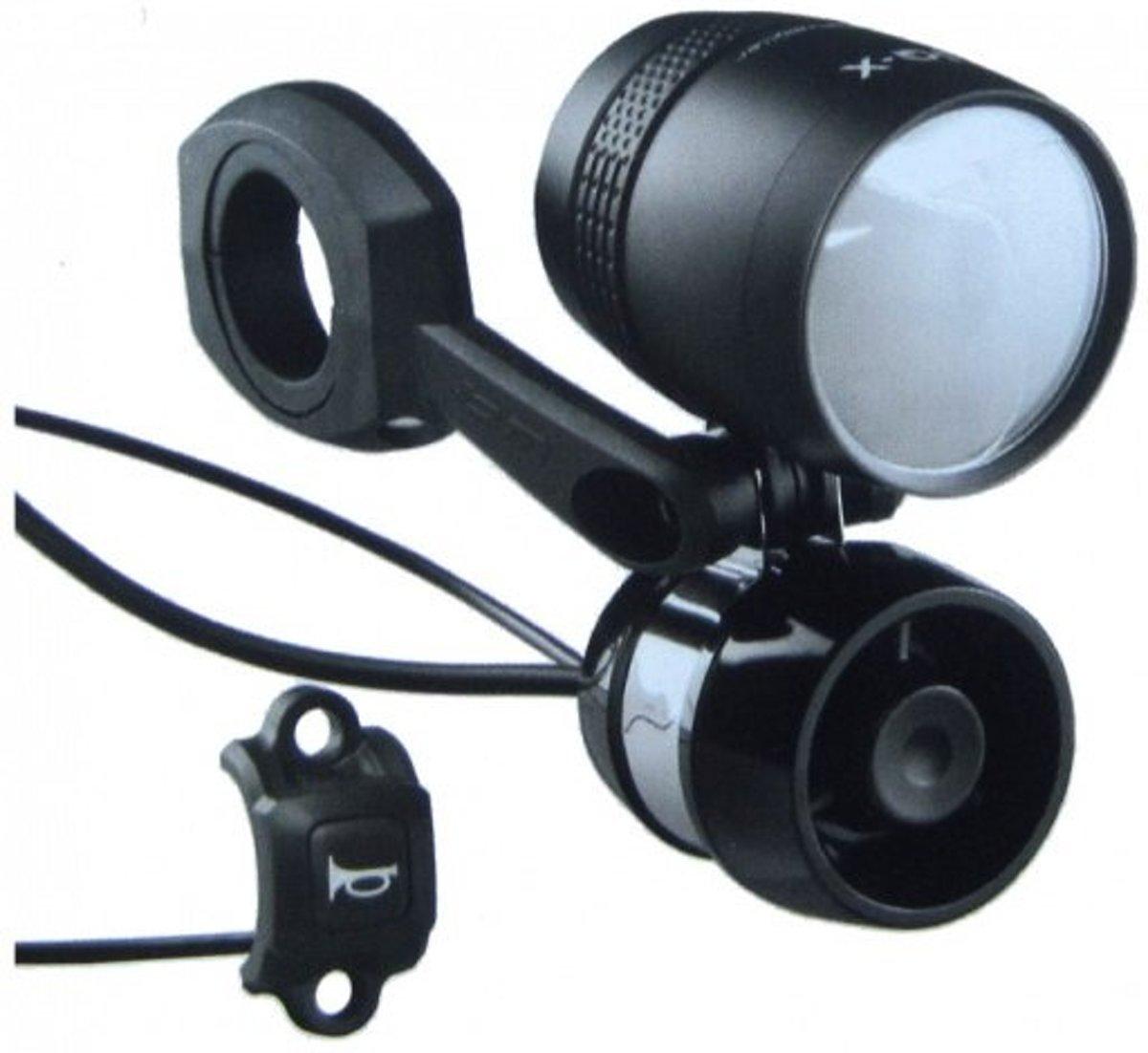 Busch&Muller signaalhoorn E-bike 6-36V zwart