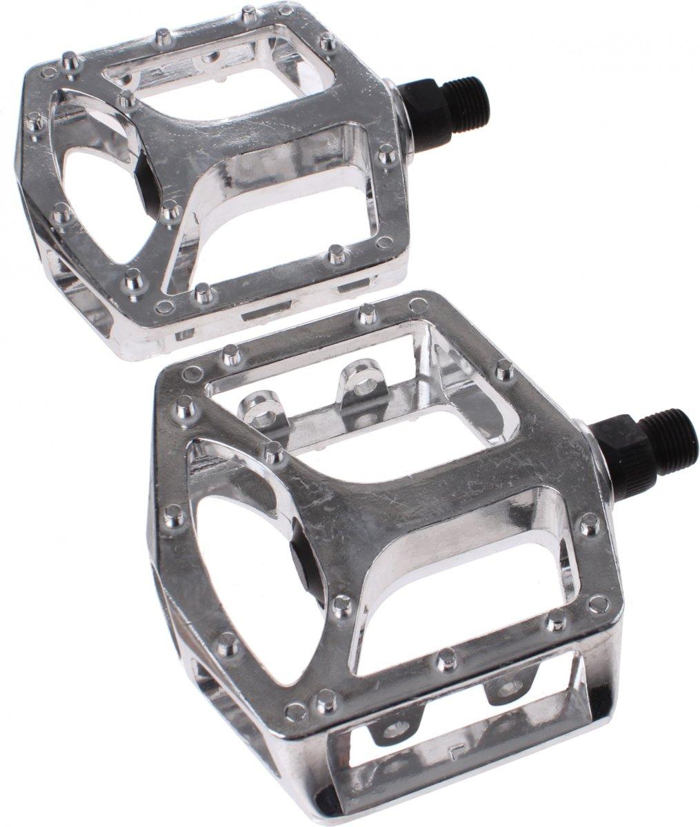 Cycle Tech platformpedalen set 1/2 inch BMX zilver