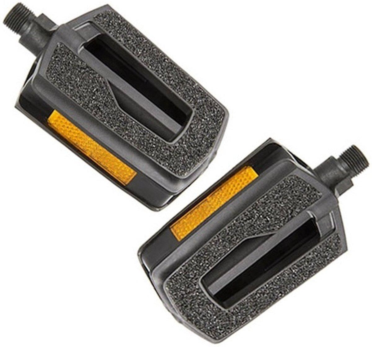 VP pedalen set 9/16 inch stadsfiets zwart