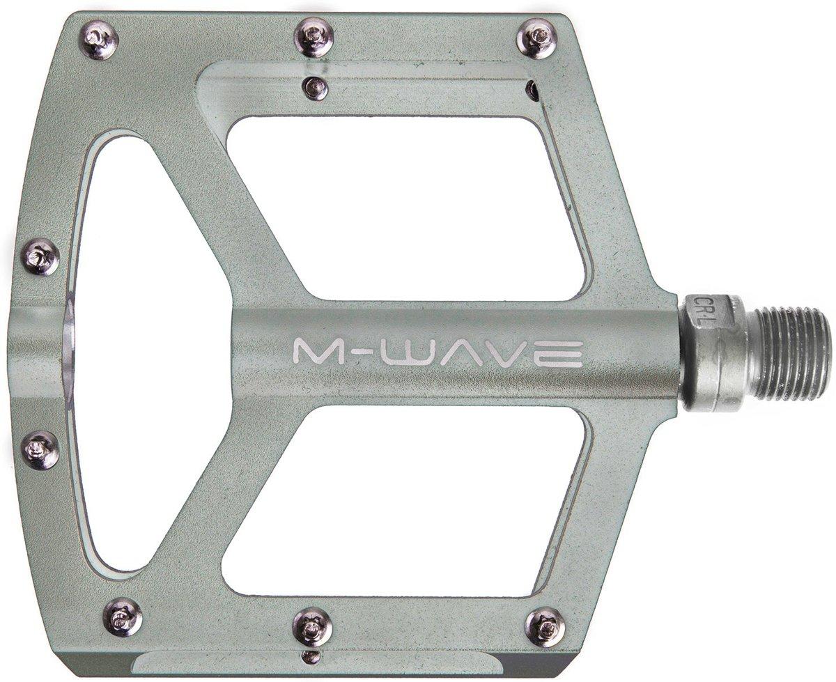 M-Wave platformpedaalset Freedom SL BMX 9/16 inch titanium