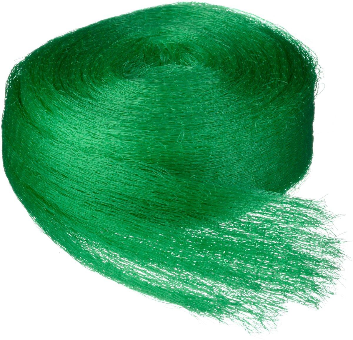Tuinnet mono groen maaswijdte 6x6mm 7,5 g/m2 10x2m Nature