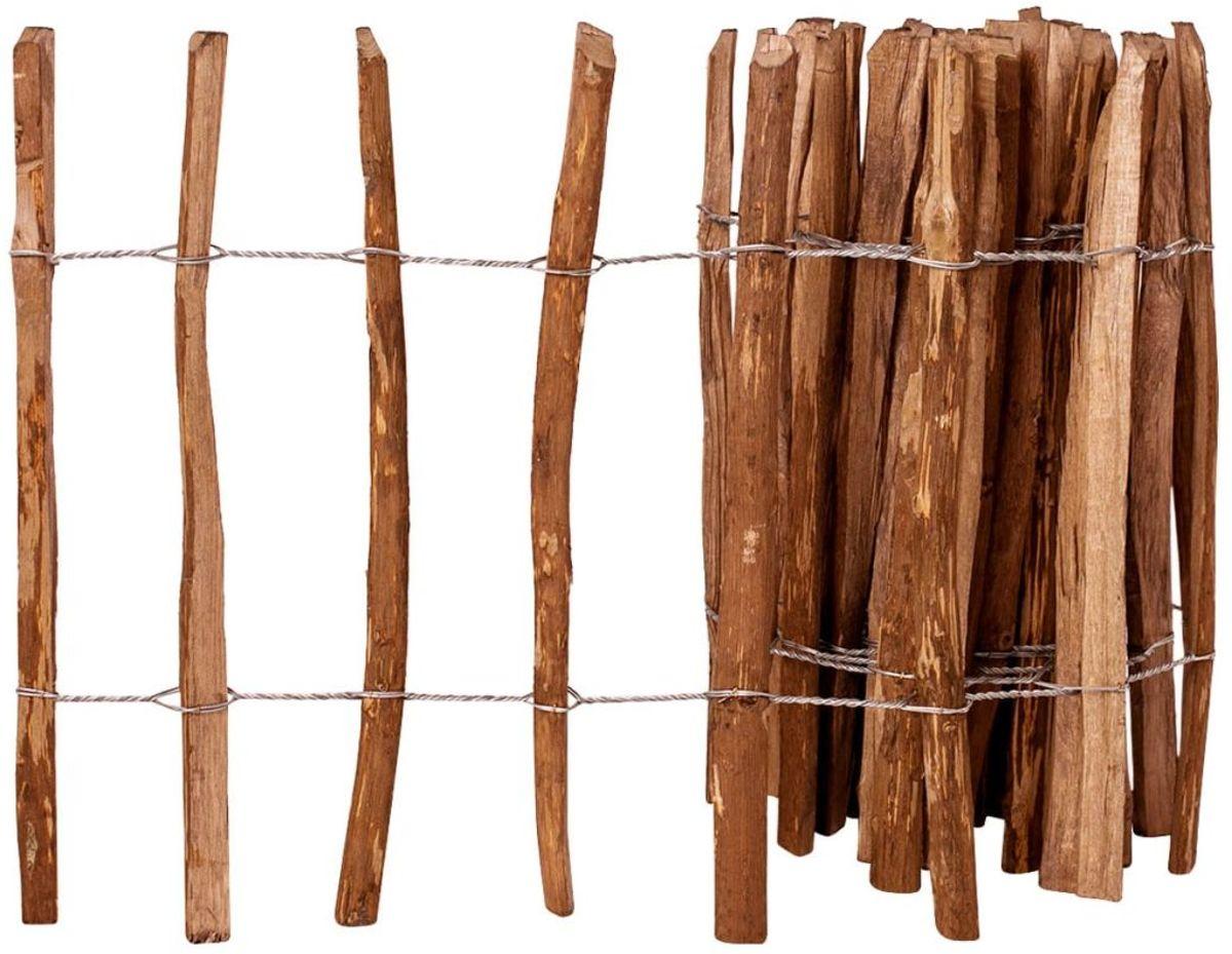 vidaXL Hazelaar hout houten hek ge??mpregneerd 60x500 cm