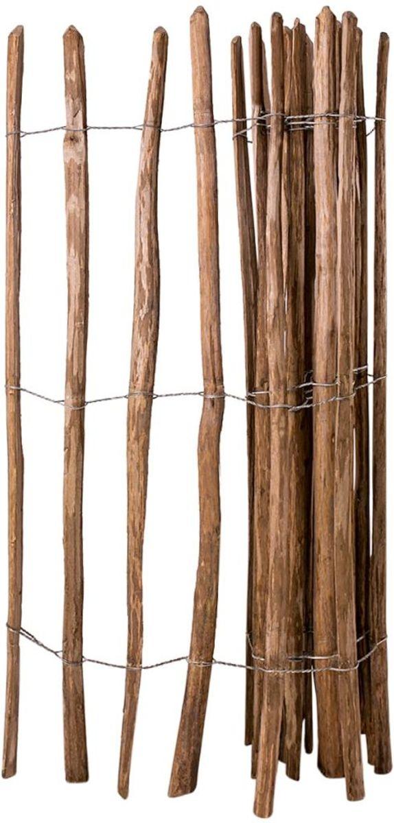 vidaXL Hazelaar hout houten hek ge??mpregneerd 150x250 cm