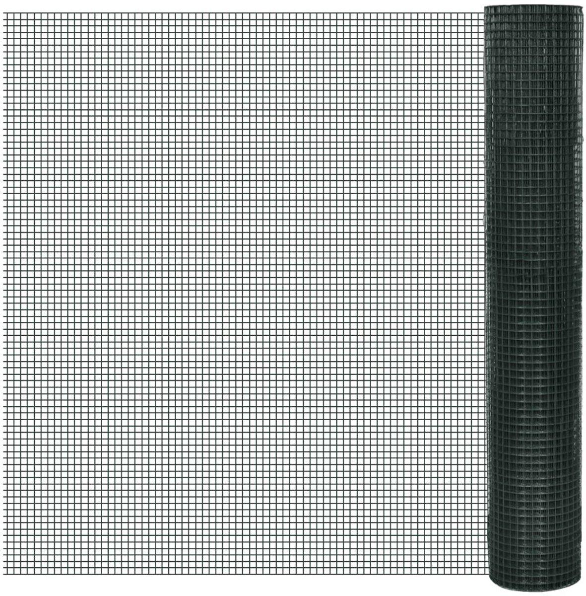 vidaXL Gaas verzinkt 1 m x 25 m / maaswijdte: 16 x 16 mm