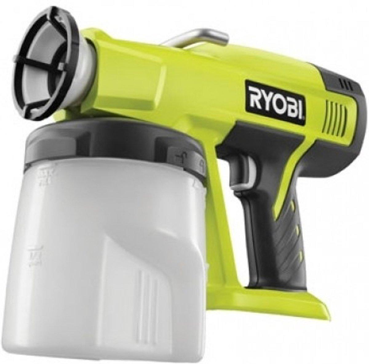 Ryobi P620 Accu-verfspuitpistool 18 V Debiet (max.) 333 ml/min