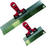 Spackmes 400mm Softgrip alu.houder RVS - MM551400