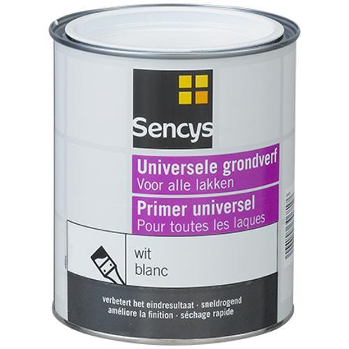 Sencys grondverf universeel wit 2,5L