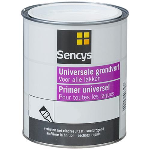 Sencys grondverf universeel grijs 750ml