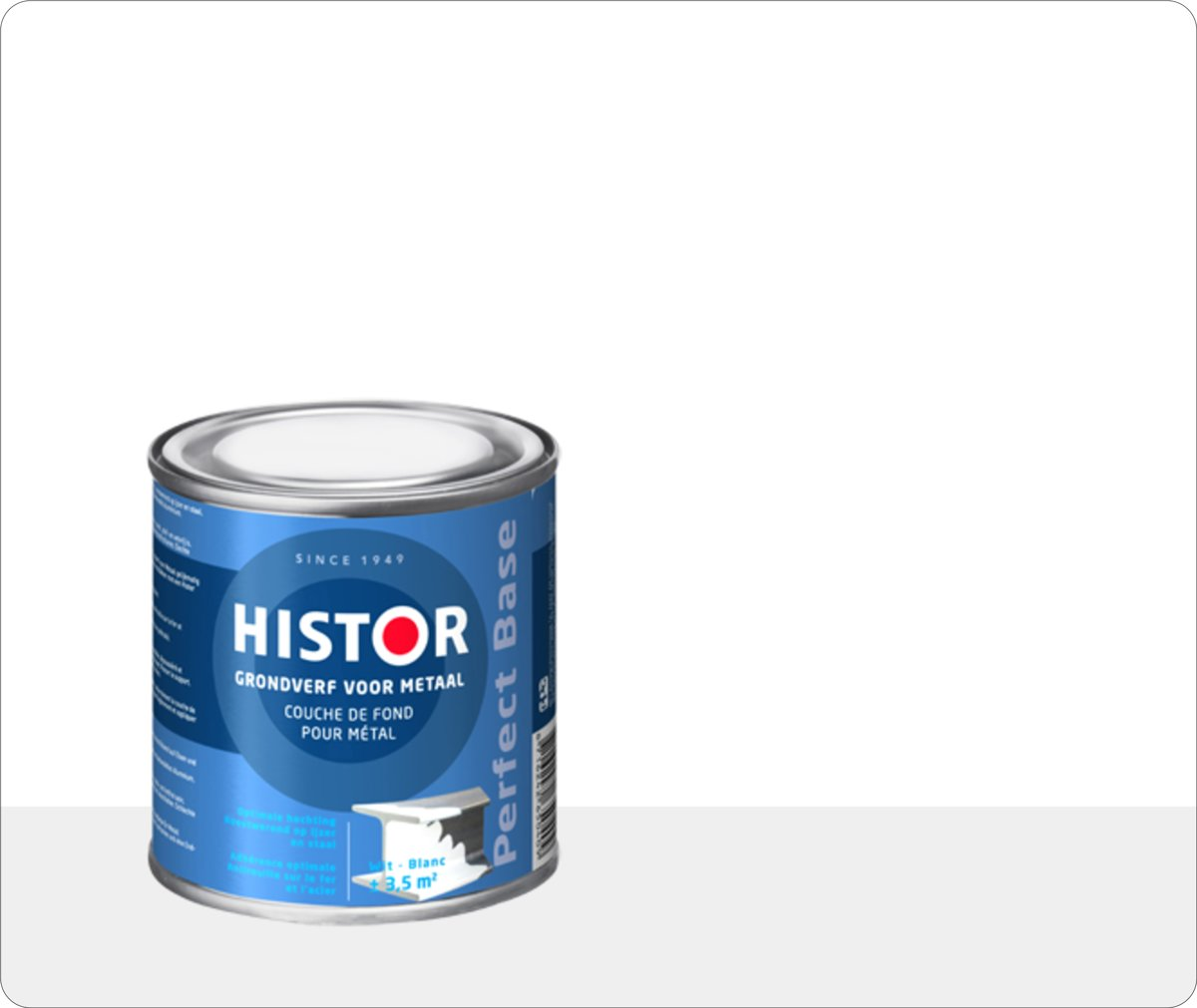 Histor Super Grondverf Perfect Base Alkyd Wit 250 ml