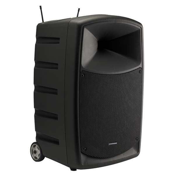 Audiophony CR25A-COMBO 12 inch 250W mobiele accu-speaker