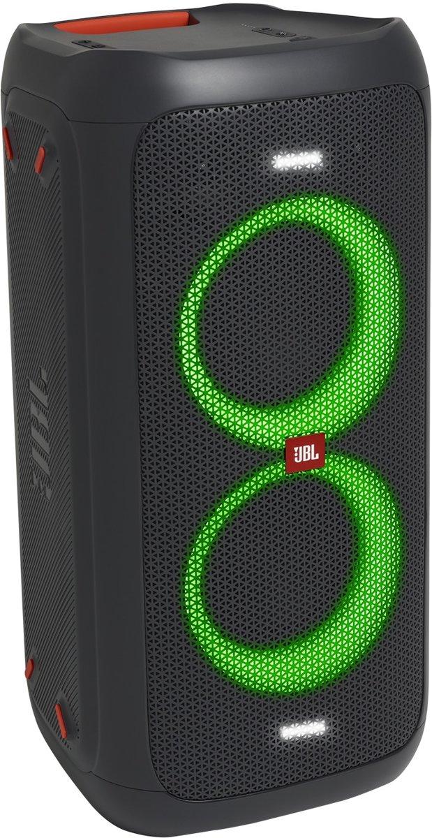 Monacor TXA-1020 Mobiele luidspreker, Mobiele PA luidspreker 25 cm 10 inch werkt op een accu, werkt op het lichtnet 1 stuks