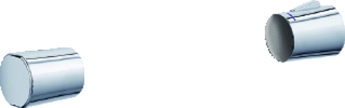 DEL grootkeukenmengkraan met vaatdouche, wand en blad, 1-gats kraang