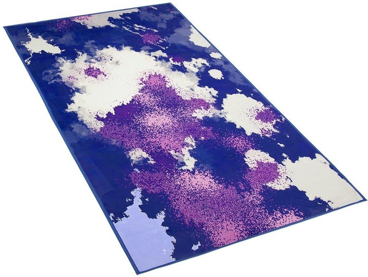 Beliani Kadirli Tapijt Meerkleurig Stof 80 x 150 cm