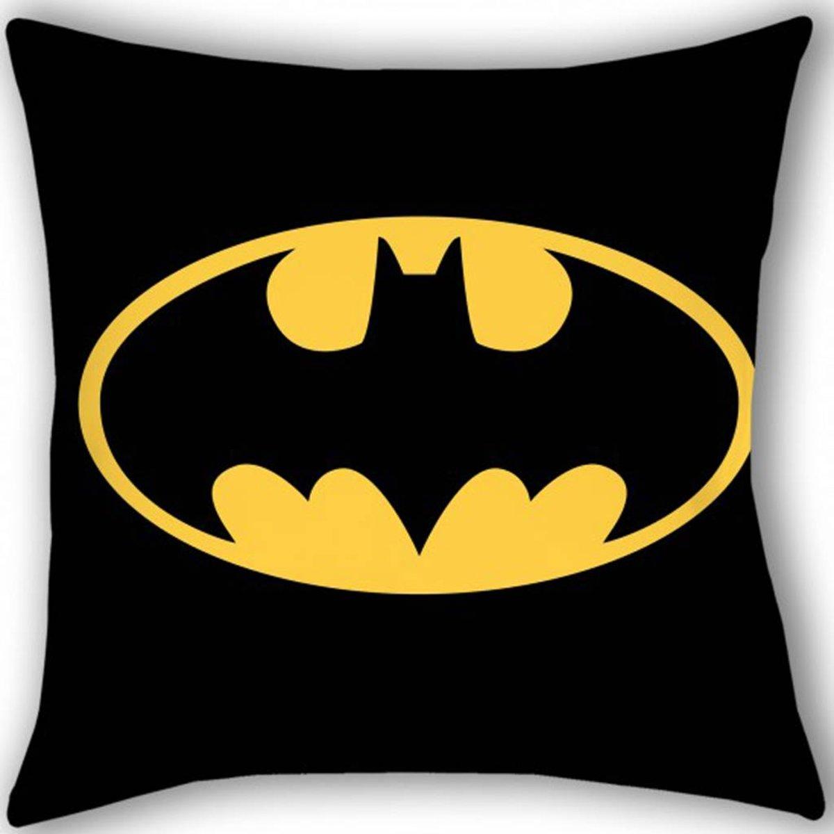 Batman Logo - Sierkussen - 40 x 40 cm - Multi