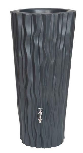 Design Regenton Alana 2 in 1 | 160 Liter Antraciet